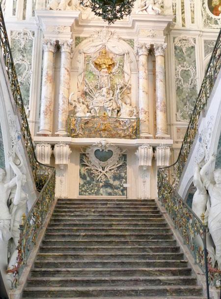 Sehenswürdigkeit Barock Schloss  Augustusburg in Brühl