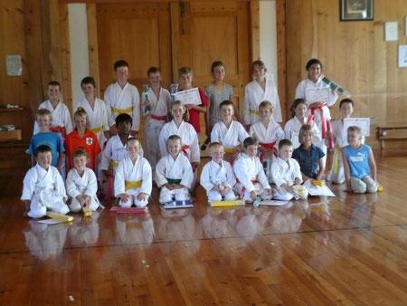 Teilnehmer Kyu-Prüfungen 17. Juni 09