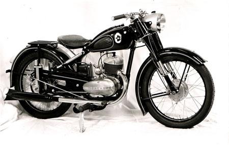B/SM 51 150 - 147ccm, Sachs Motor, 6.5PS