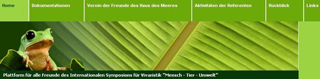 """Plattform für alle Freunde des Internationalen Symposions für Vivaristik """"Mensch - Tier - Umwelt"""""""