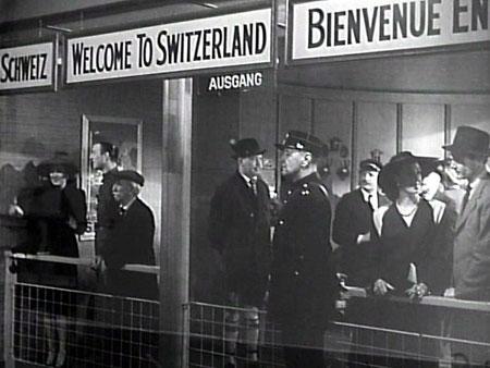Swiss Customs at Zurich Airport