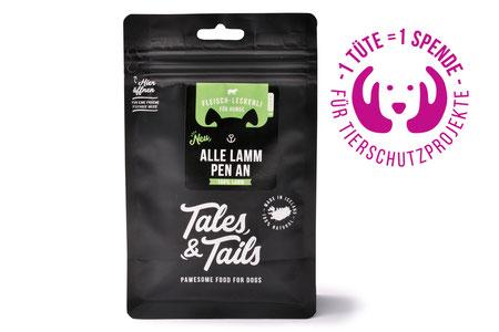 Hundestrand Leckerlies Hundesnack Snacks Lamm Monoprotein Tales & Tails