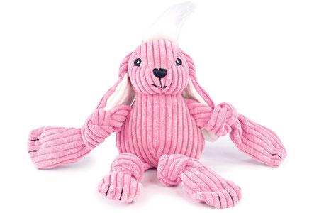 Hundestrand Hundespielzeug Häschen Kaninchen Bunny Knottie HuggleHounds