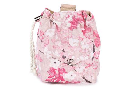 Bellovie Futterbeutel Leckerliebeutel Premium Cherry Blossom pink
