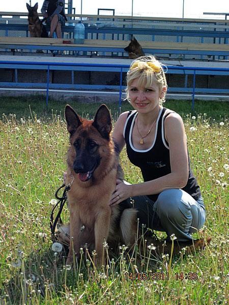 Деревянко Алина и Зондеркоманда фон Нордэн 14.05.11. в Днепропетровске