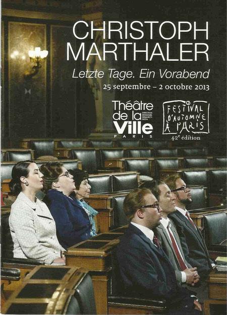 """Letzte Tage"" in PARIS"