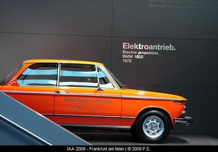BMW Elektroauto von 1972