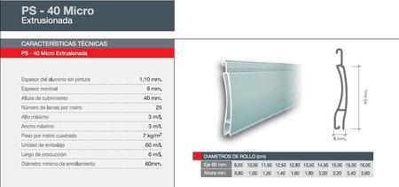 Persianas seguridad aluminio Pamplona