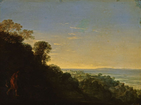Adamo Tedesco: Morgenlandschaft (Aurora), Herzog Anton Ulrich-Museum Braunschweig Museumsfoto: Claus Cordes, Wikimedia Commons (gemeinfrei)