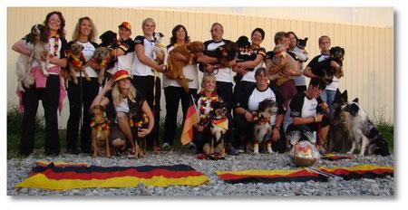 Unser Team Germany 2010 in der Schweiz