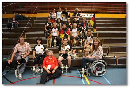 Unser Team Germany 2011 in den Niederlanden