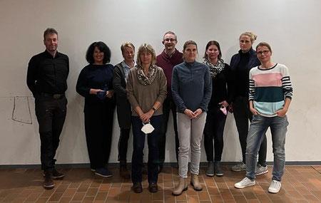 Vorstand Förderverein Gymnasium Stolzenau, es fehlen Peter Lampe und Konstanze Weber .  Stand 2019