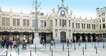 Bahnhof Valencia, Estation del Norte