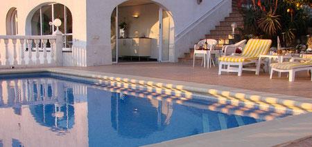 Ferienwohnung Valencia in der Villa Gandia Hills mit Sonnen-Terrasse und Meerwasser-Pool