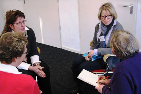 Mediationsrunde mit Dr. Vera Birtsch, MEDIATION BIRTSCH, Hamburg