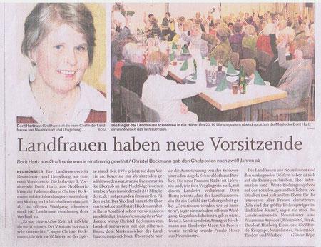 Hoilsteinischer Courier, 17. Februar 2010