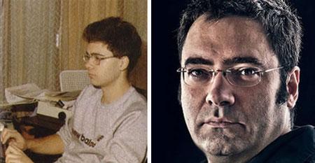 Victor Ruíz ayer y hoy...¡Y es que los años pasan para todos!