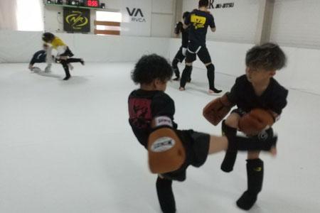 奈良市、生駒市、天理市、大和郡山市、京都からキックボクシング、カラテの練習に来ています。