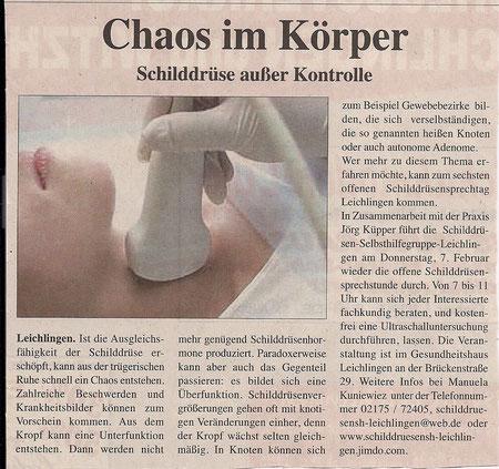 Quelle: Wochenpost Leichlingen vom 22. Januar 2013