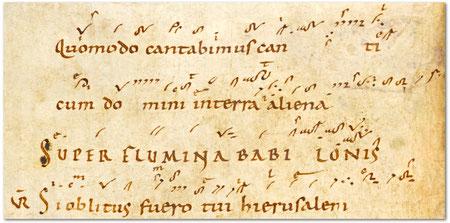 Scola Metensis-In Terra aliena-manuscrit d'Einsiedeln