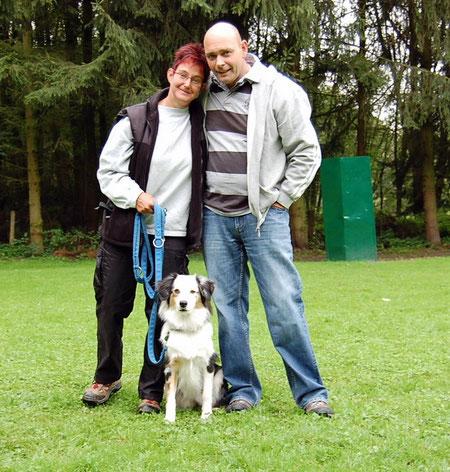 Annette und Ralf mit Shelly