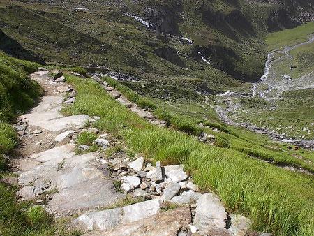 rolf maybaum geh-danken unterwegs im Ahrntal Südtirol