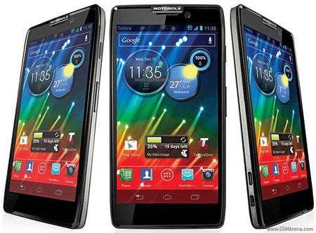Da Click para conocer Características de Motorola XT925 HD