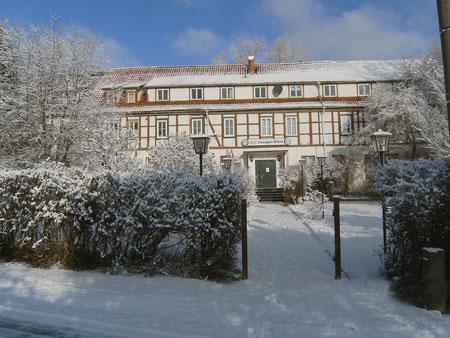 Sandgut Mihla im Winter