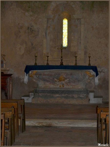 Autel de l'église Saint Pierre de Mons à Belin-Beliet (Gironde)