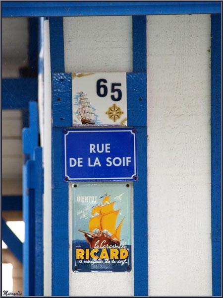 Maison 65 angle Rue de la Soif, Village de L'Herbe, Bassin d'Arcachon (33)