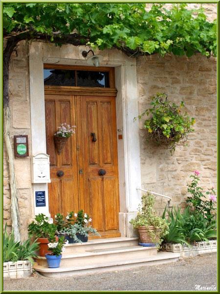 Pas de porte à la treille - Goult, Lubéron - Vaucluse (84)