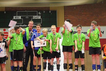 Westdeutscher Meister mU14 und 8. Platz bei der Deutschen Meisterschaft 2014