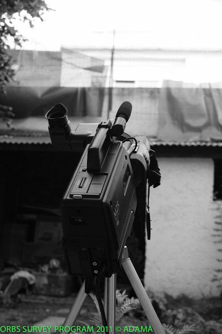 Camera M26 Panasonic sur tripode Solis DR
