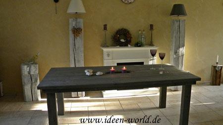 Holz Deko Tische Lounge Möbel