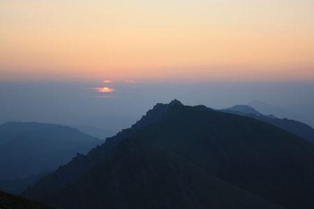 Sonnenaufgang Gottesdienst auf dem Hochgrat, Sa 18 Juli 2013, 6 Uhr