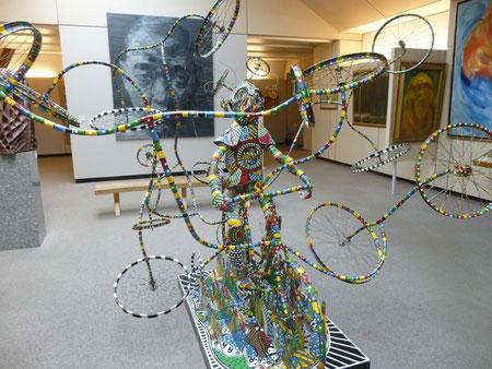 Le vélodrome de Gaston, musée de Dijon
