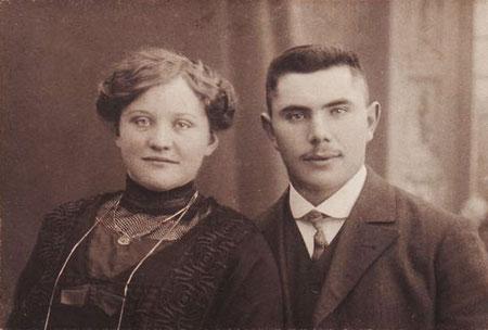 Firmengründer Theodor Buschmann und Frau, 1920er Jahre