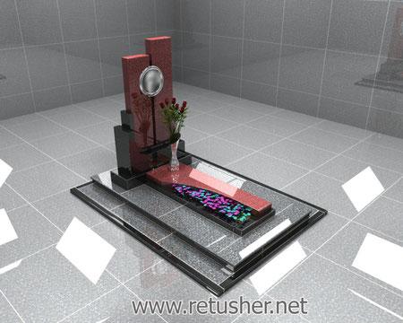 Мемориальный комплекс в 3d