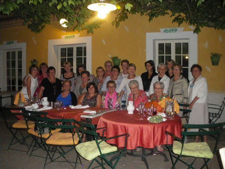 notre repas d'adieu du club juin 2012