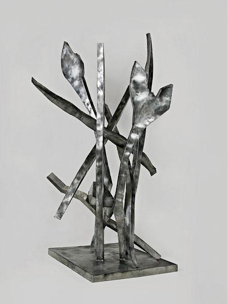 Ehrenwerte Gesellschaft, 110 x 144 x 190 cm, Edelstahl, 2009