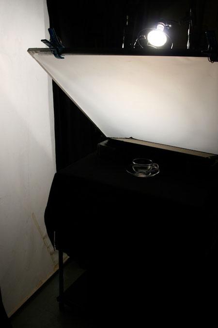 ガラス撮影