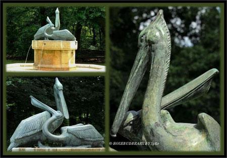 Pelikanbrunnen an Hannovers Eilenriede