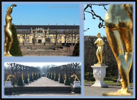 Hannover Herrenhäuser Gärten Großer Garten Gartentheater