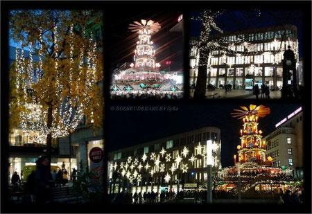 Lichterglanz in Hannovers Innenstadt