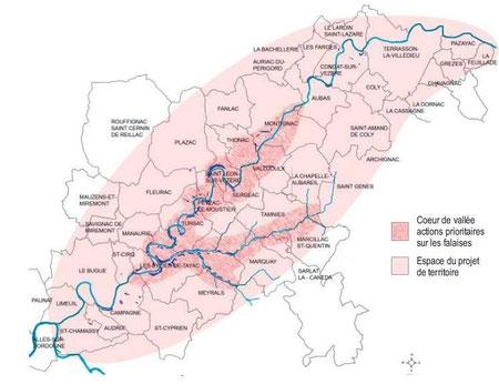 Crédit cartographique : cabinet d'études Mandragore