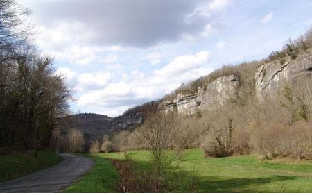 Une falaise aujourd'hui (crédit photo : Mandragore)