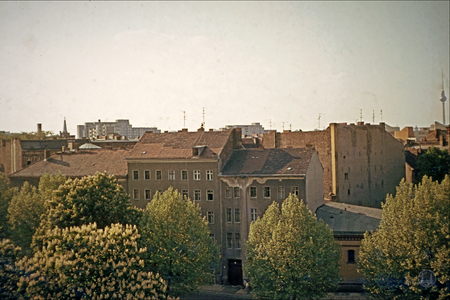 Berlin, Kreuzberg, Fraenkelufer, 1979