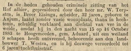 Leeuwarder courant 11-02-1884