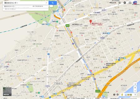 葺合文化センター地図