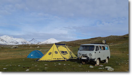 Trek Altai Mountains-trekking in mongolia